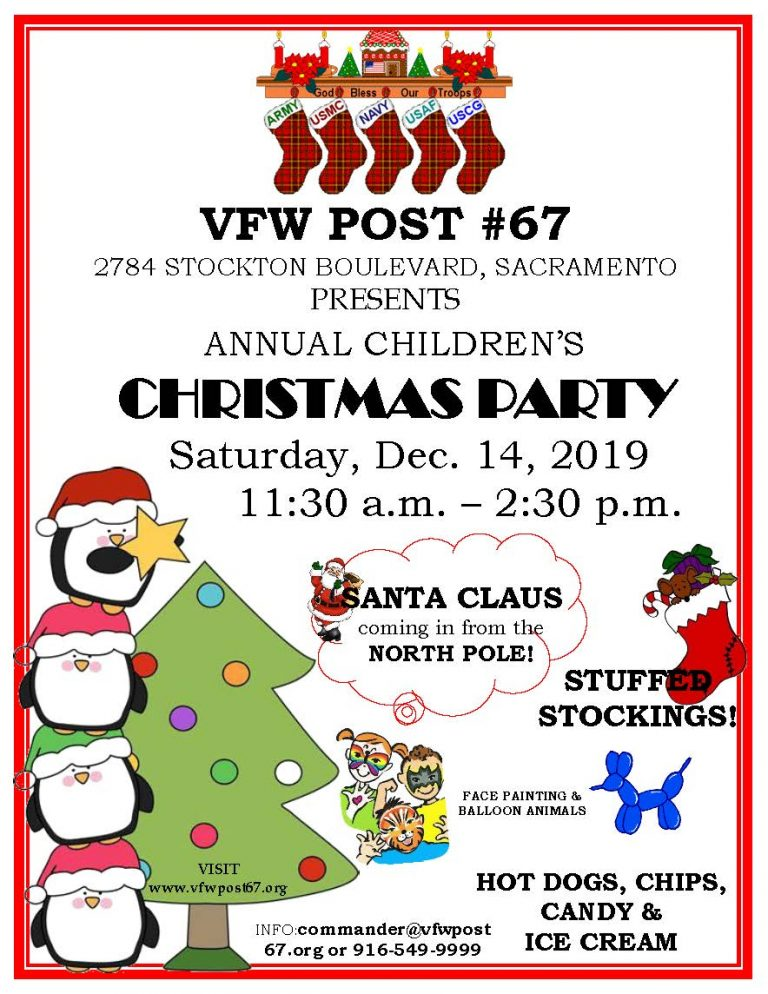 2019 VFW Post 67 Christmas Party